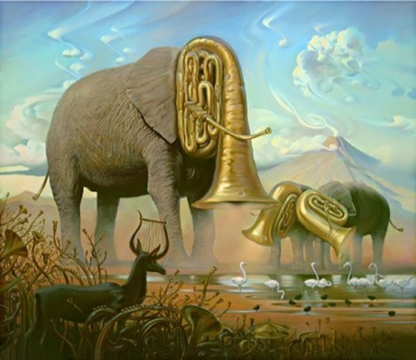 Surreal Paintings of Vladimir Kush