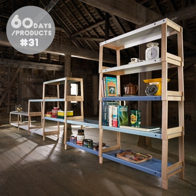 #31. Fit Shelving, designed by emerging Tasmanian designer Matt Prince for Derlot Editions.