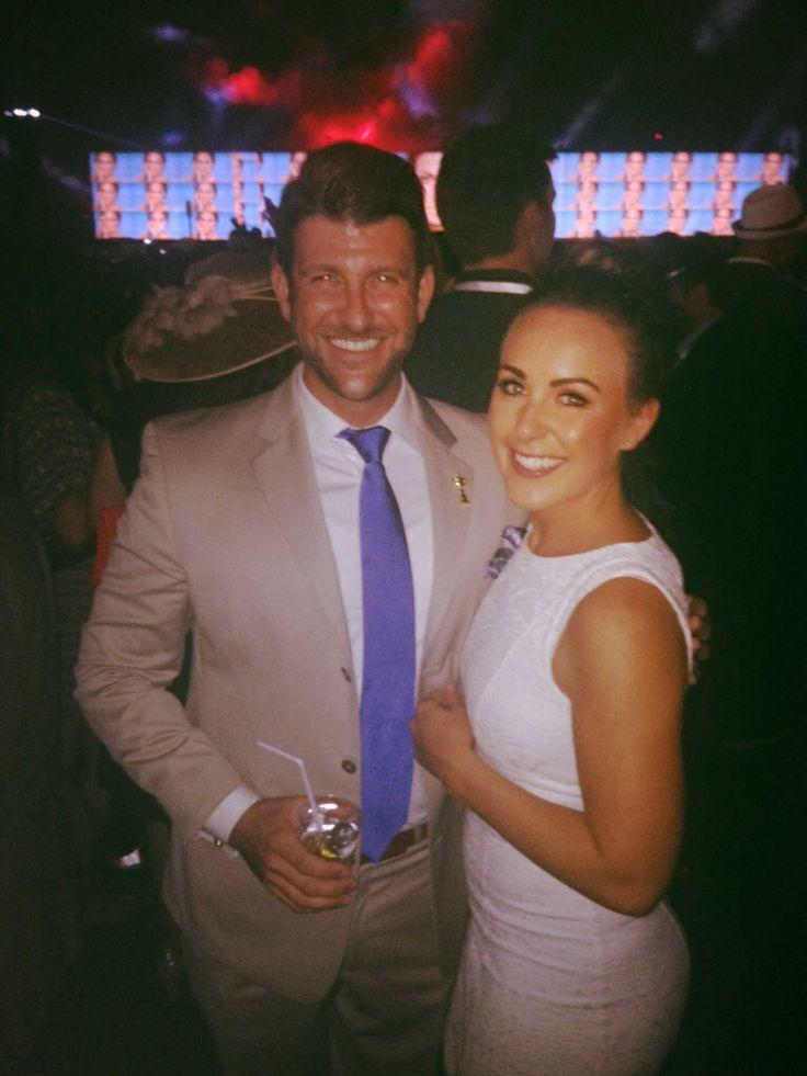 Matthew & Lisa at Dubai World Cup