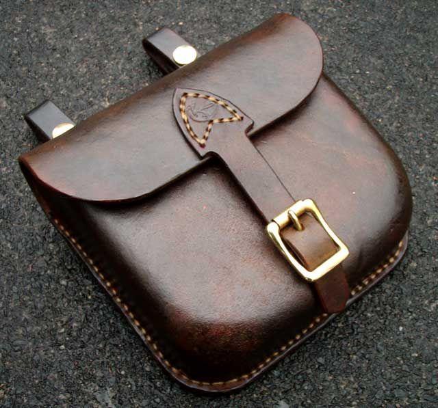 Wet formed bag tutorial - How Do I Do That? - Leatherworker.net