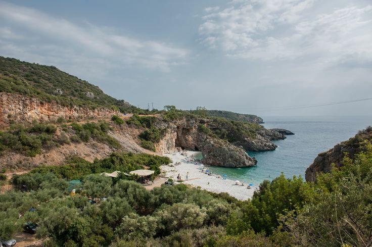 Foneas Beach is shortly after Kardamili going to Areopolis. The beach has turquoise waters, white pebbles and big rocks offering natural shade. #beaches, #landscape, #greekislands, #greece, #hdrphotography, #hdr,#stoupa, #messinia,