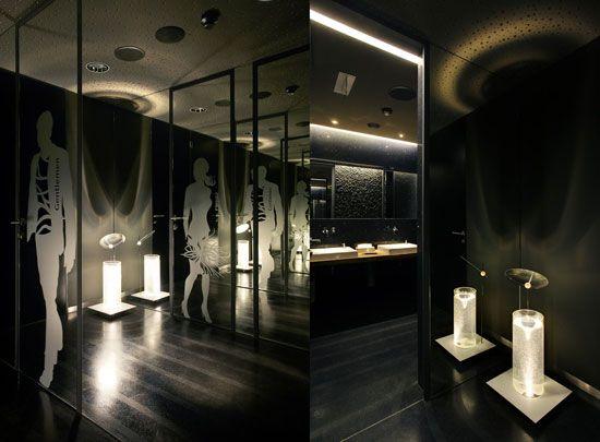 Fou zoo restaurant interior design in bratislava by sad for Zoo bathroom decor