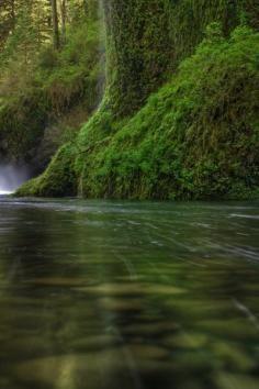 Punch Bowl Falls - Eagle Creek - Columbia River Gorge National Scenic Area, Oregon