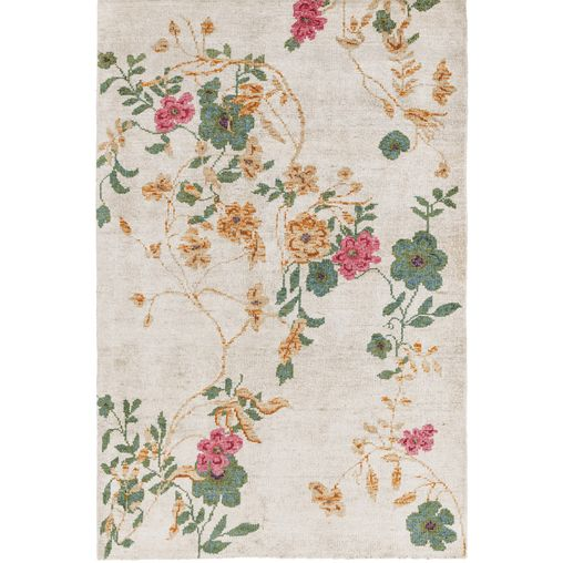 Lia Chinoiserie Floral Rug