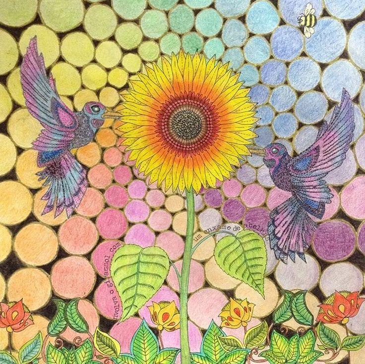 Inspirational Coloring Pages Por Breno Belem Inspiracao Coloringbooks Livrosdecolorir Jardimsecreto Secretgarden