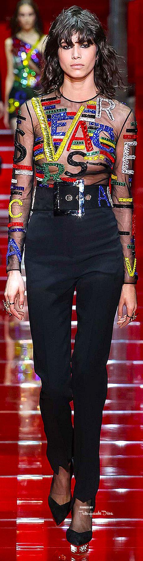 #MFW Versace Fall 2015 RTW