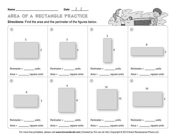 Free Printable Perimeter Worksheets Area And Perimeter Worksheets Third Grade Math Worksheets In 2021 Area Worksheets Third Grade Math Worksheets Maths Worksheets Ks2