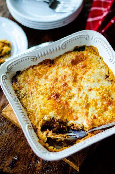 Spicy Sausage Quinoa Polenta Bake + other quinoa recipes