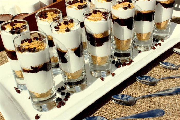 S'mores Guest Dessert Feature | Amy Atlas Events