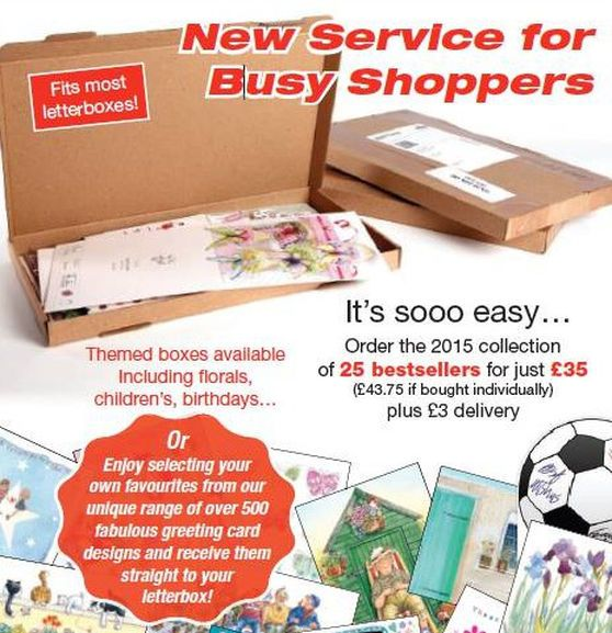 Free P&P when you buy 25 cards using the letterbox service.    Buy beautiful and great value Phoenix cards, gift wrap and stationery on-line. Work from home by starting your own Phoenix Trading business.