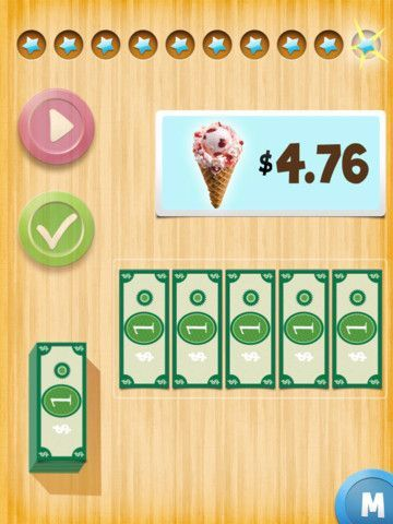 Develop Money Skills with the Next Dollar Up App.  We LOVE this app in our classroom!