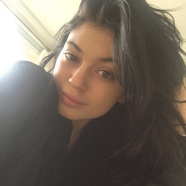 Pin for Later: Kardashian Makeup-Free Selfies That Will Inspire You to Go Bare Kylie Jenner This makeup-free picture of Kylie feels so personal that we feel like we caught her during a private moment. Love the freckles!
