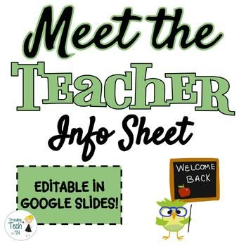 Click here to view my other products on my TPT store This is a great resource to use at the beginning of the school year to let your students and parents know a little more about you.
