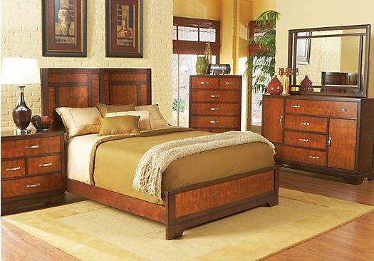 cherry queen bedroom collection rooms to go bedroom pinterest