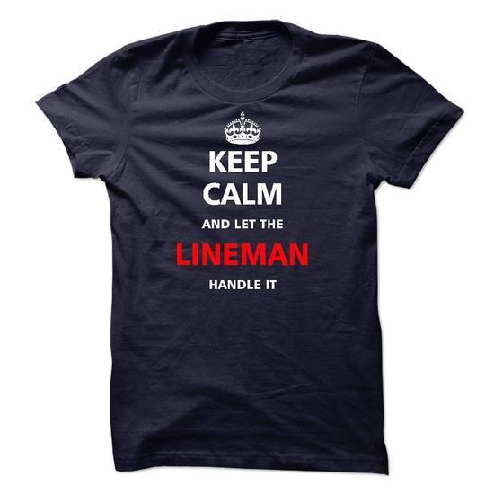 Let the LINEMAN - #custom dress shirts #design tshirts. LOWEST SHIPPING => https://www.sunfrog.com/LifeStyle/Let-the-LINEMAN-21835168-Guys.html?60505