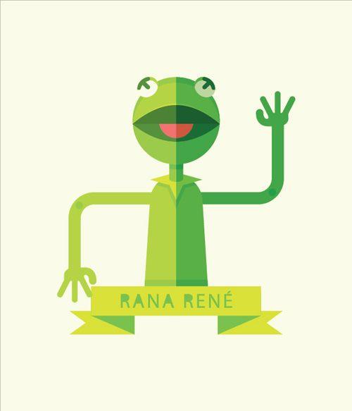 Create a Geometric Kermit the Frog Illustration in Adobe Illustrator  #illustraotrtutorials #vectortutorials #vectorgraphics