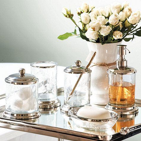 Madeleine Bath Collection, available at ballarddesigns.com...great for an elegant guest bathroom