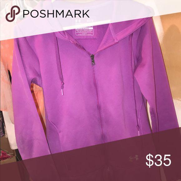 Under Armour Hoodie Medium Medium Purple zip up Under Armour Tops Sweatshirts & Hoodies