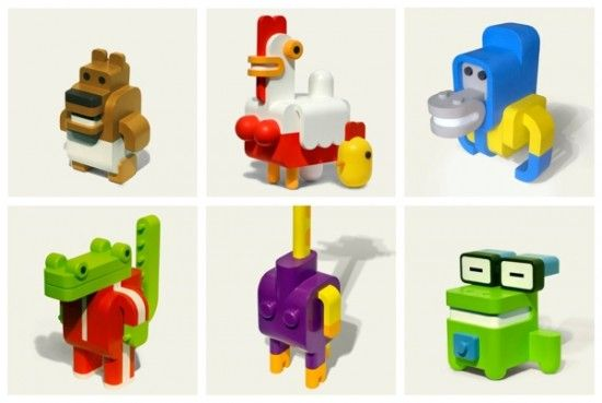 Sebastian Burga design – Minimals Toys – Animal Building Toys | Small for Big