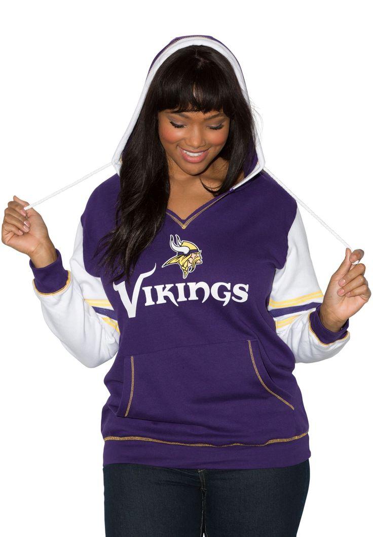 2ef6e785 all sport couture minnesota vikings womens blown cover halter top purple