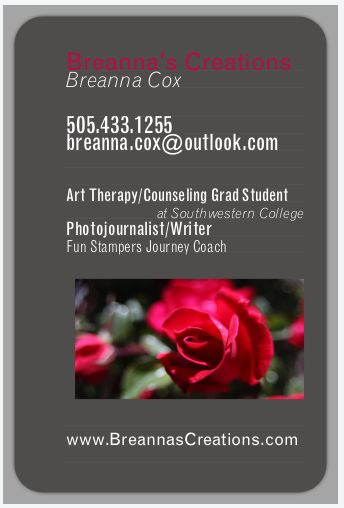 Breanna Cox | Breanna's Creation's : Art Therapy/Counseling Grad Student, Photojournalist and Writer, Papercrafting/Fun Stampers Journey Coach, USAF Medic #Veteran, Northern Kentucky University alum, INFJ, Progressive, Tech Geek, Dog Mom, Homegrown Ky girl