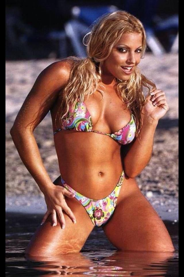 Lucha Libre Femenina Wwe Diva Trish Stratus | Hot Female Athletes | Moda