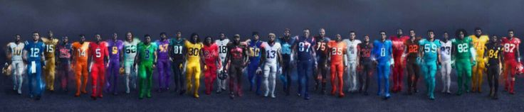 Nike Color Rush Uniforms