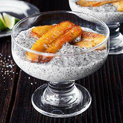 Chia w mleku kokosowym | Kwestia Smaku