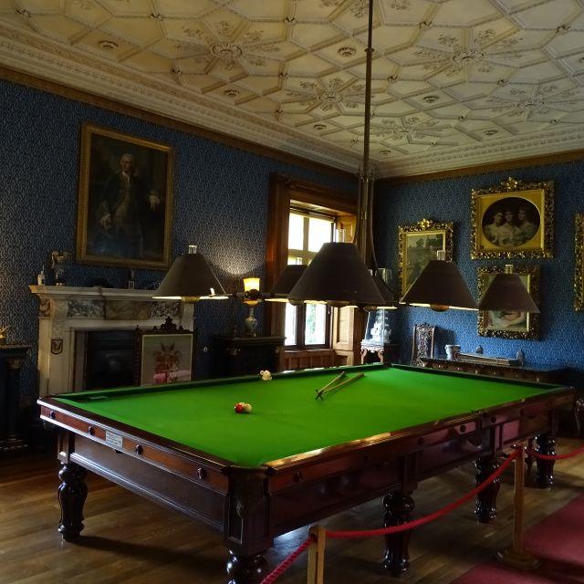 Charlecote House- Billiard Room