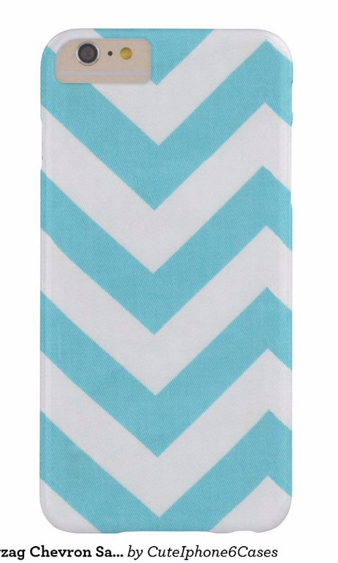 Blue White Zigzag Chevron iPhone 6/ 6S Plus case design ready be purchased or customized for #father's day