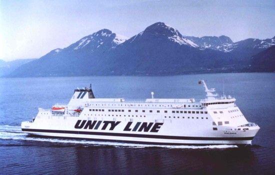 #unityline #prom #ferry #polonia #sea #poland #sweden #świnoujście #szczecin #ystad