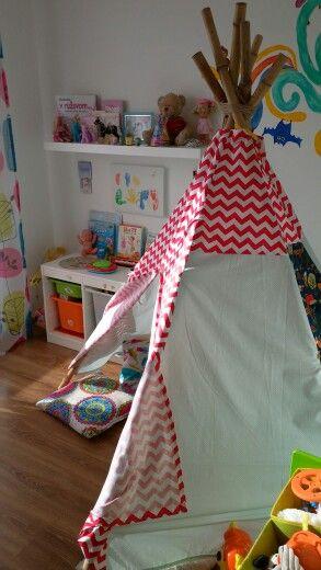 Playroom teepe