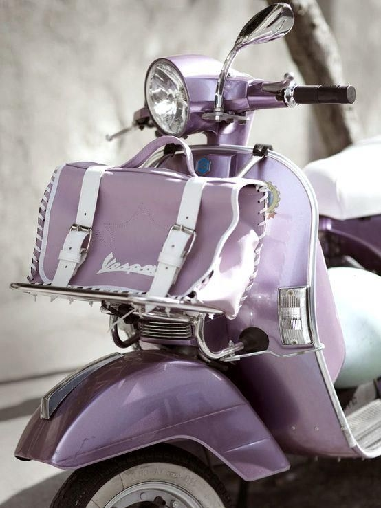 COLOR ❤ LILA + LAVANDA ♡ Purple vespa