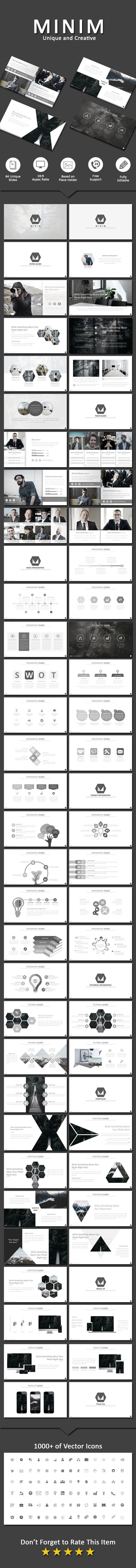 Minim - Business PowerPoint Templates Download here: https://graphicriver.net/item/minim/19792790?ref=classicdesignp