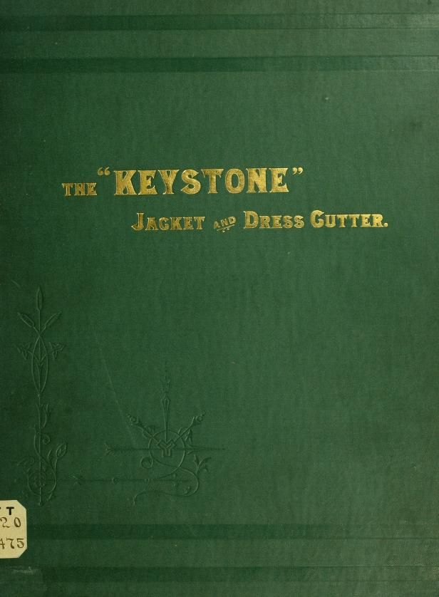 "The ""Keystone"" jacket and dress cutter. A full book that has vintage patterns you can draft yourself."
