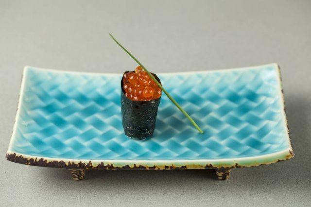 Sushi de ovas de salmão, Kinoshita