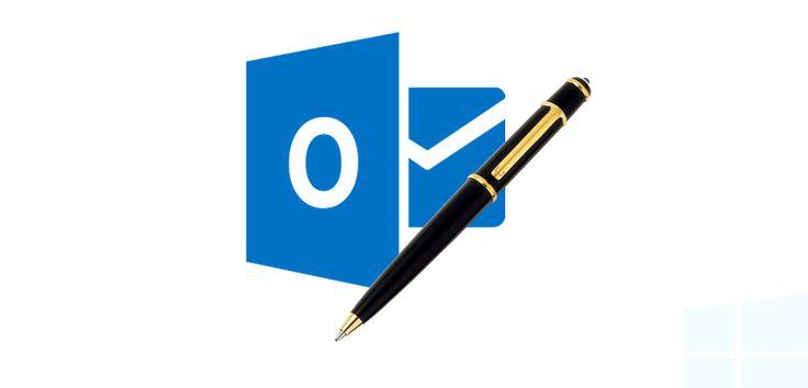 Cómo cambiar y configurar la firma del correo en Outlook Online