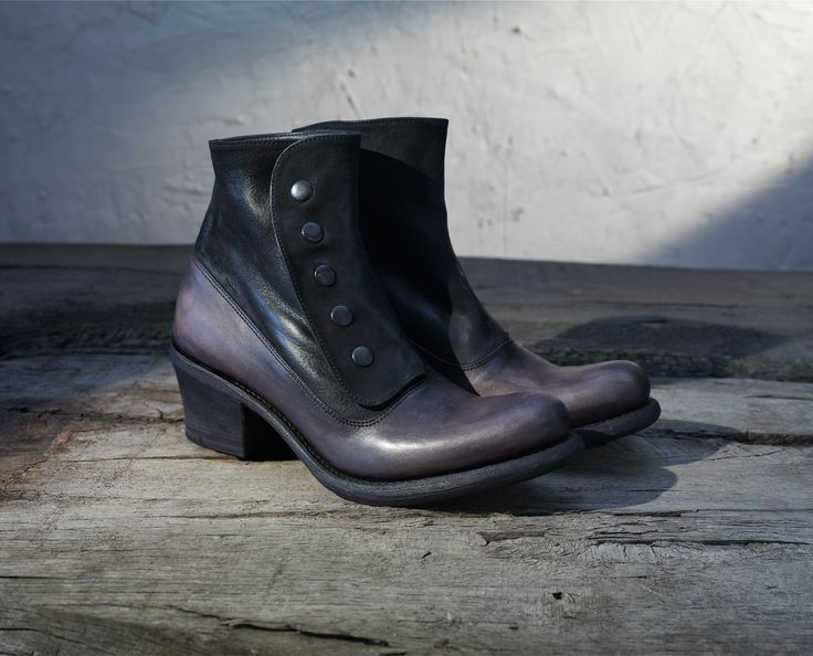 Handmade women's shoes, leather heel, hand dyed, #pollackishoes #womenshoes #leather #fashion