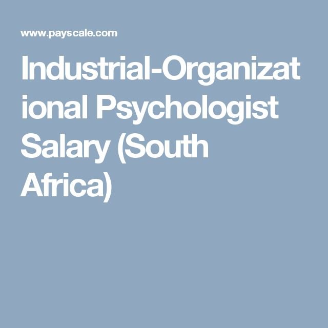dissertation in industrial psychology The phd program is designed to adhere to the scientist-practitioner model as endorsed by the society for industrial and organizational psychology of the american psychological association.