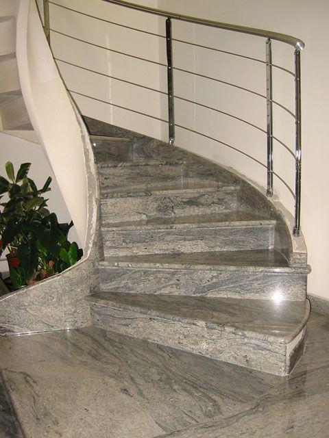 Mejores 10 im genes de escaleras en pinterest escaleras for Escaleras de marmol y granito