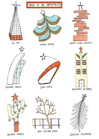 Christmas Trees for Architect ~ #architecture #comic #art #jokes #gage #