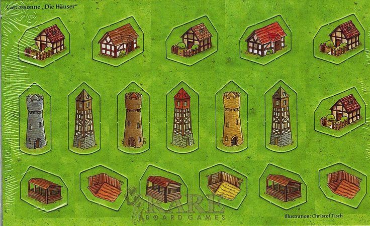 Board Games With Buildings