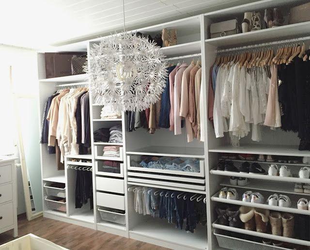 IKEA PAX Kleiderschrank. Inspiration und verschiedene Kombinationen für das per… – Helene