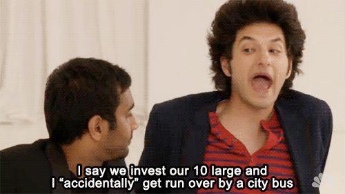 I love Jean-Ralphio #parksandrec (My future plan to make bank)