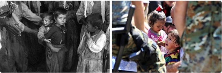 #Glass_Steagall #FeelTheBern #p2 #tlot #union #occupy #Syriac #FSA #Kurd #Baloch   These Pictures Show How Refugee Children Haven't Changed Since World War II  http://www.buzzfeed.com/hayesbrown/these-pictures-show-how-refugee-children-havent-changed-sinc#.iwXgYzG2k  More than a quarter of the biggest wave of refugees since World War II are children.  More than one million people have crossed into Europe by land and by sea over the last year, fleeing violence in their homelands, and...