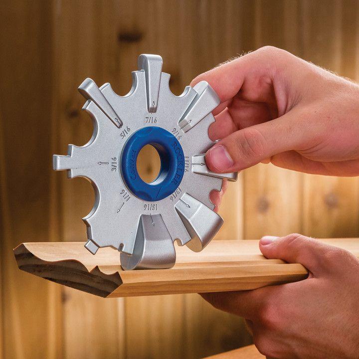Rockler Radius Gauge Set in 2019  New Woodworking