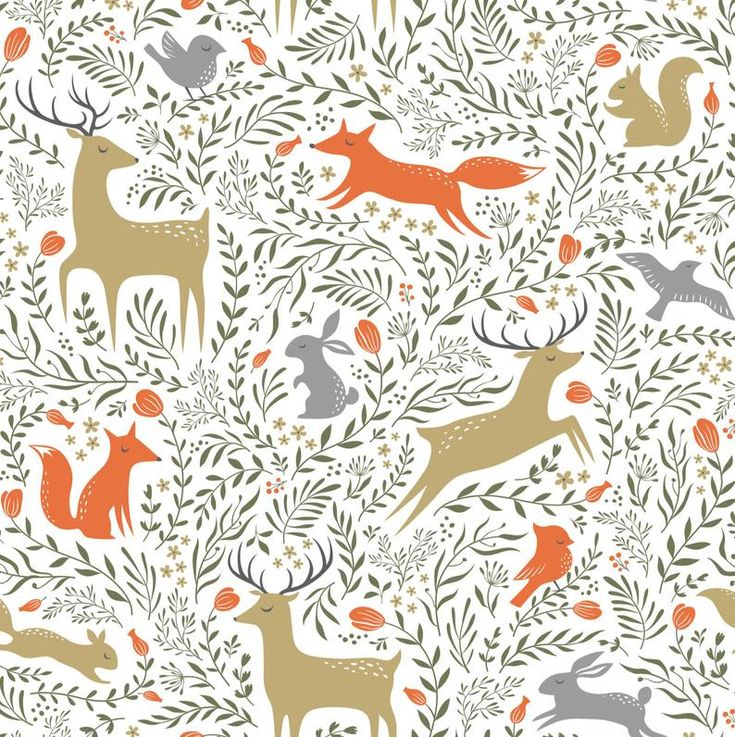 Wallpaper Forest Animals 120 Wallpaper, Classic