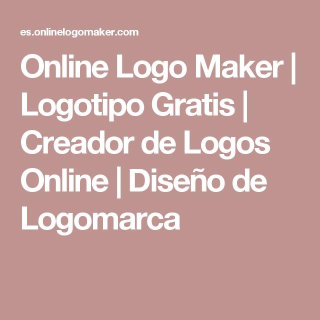 Online Logo Maker | Logotipo Gratis | Creador de Logos Online | Diseño de Logomarca