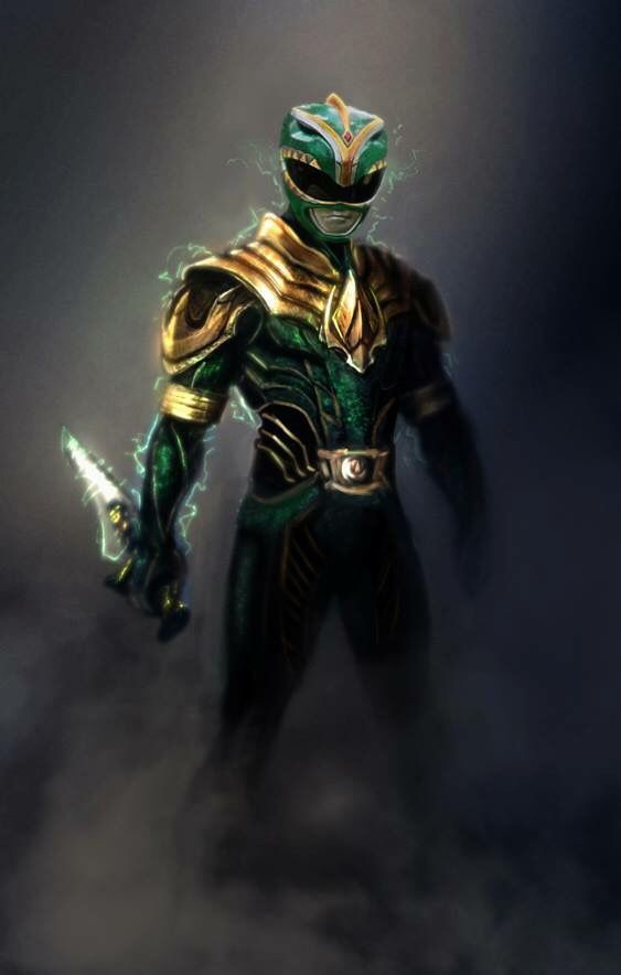 Green Mighty Morphin' Power Ranger