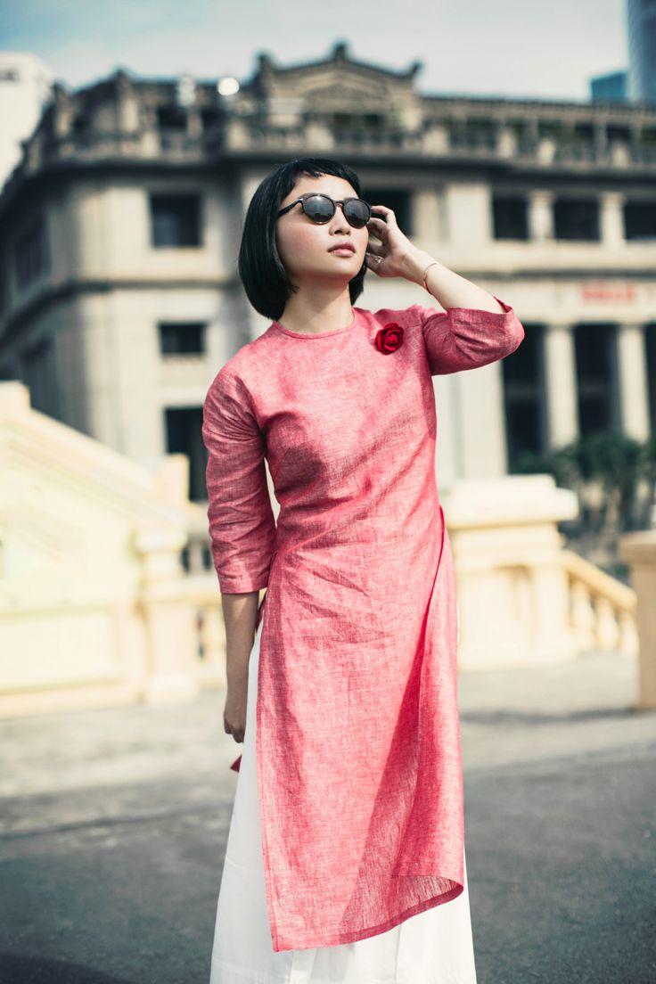 Chất liệu #Organza của Nhật và #Linen vốn được làm cho phục trang nam
